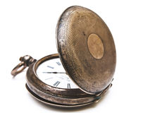 Old open pocket clock Stock Images