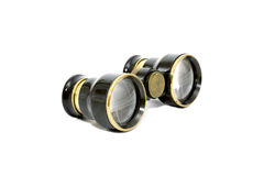 The old opera binocular isolated Royalty Free Stock Images