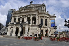 Old Opera in Frankfurt on the Main Royalty Free Stock Photography