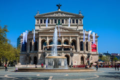 Old Opera in Frankfurt am Main Stock Image