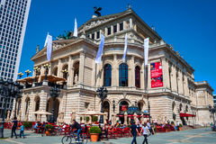 Old Opera in Frankfurt am Main Stock Photos