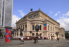 Old Opera House - Frankfurt, Germany Stock Images