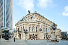 The Old opera house in Frankfurt, Germany Royalty Free Stock Photos