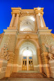 Old Opera Theatre Building in Odessa Ukraine night Royalty Free Stock Image