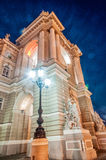 Old Opera Theatre Building in Odessa Ukraine night Stock Photo