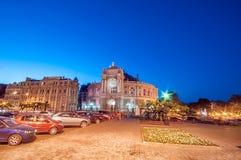 Old Opera Theatre Building in Odessa Ukraine night Royalty Free Stock Photo