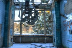 Old operating room in Beelitz Stock Photos