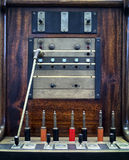 Old operator panel - switchboard. Old operator panel - technology before telephone Stock Photography