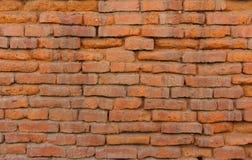 Old orange brick wall Royalty Free Stock Photo