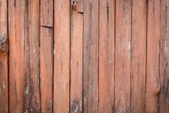 Old orange/brown log wall texture Royalty Free Stock Photos