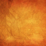 Old orange paper background Stock Photo