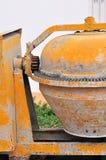 Portable concrete mixer Stock Photo