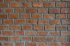 Old orange stone brick background and texture Royalty Free Stock Photography