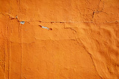 Old orange wall concrete texture background. Stock Photo
