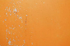 Old orange wall Stock Photo