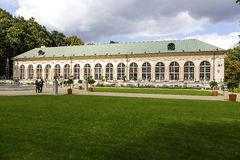 Old Orangery in Lazienki in Warsaw Royalty Free Stock Photo