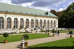 Old Orangery in Lazienki, Warsaw Royalty Free Stock Photography