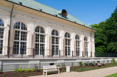 Old Orangery, Warsaw. Construction year: 1788 Designer/builder: Dominik Merlini Royalty Free Stock Image