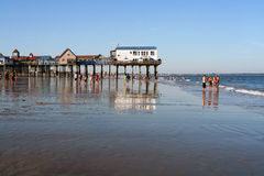 Old Orchard Beach, Maine Stock Image