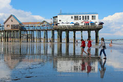 Old Orchard Beach, Maine Royalty Free Stock Image