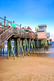 Old Orchard Beach, Maine. The Town of Old Orchard Beach is ideally situated on the scenic coastline of Southern Maine where it offers sandy beaches and a Stock Images