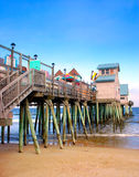 Old Orchard Beach, Maine. The Town of Old Orchard Beach is ideally situated on the scenic coastline of Southern Maine where it offers sandy beaches and a Royalty Free Stock Photography