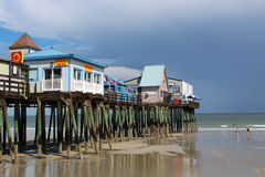 Old Orchard Beach, Maine Stock Photos