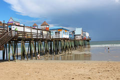 Old Orchard Beach, Maine Stock Photography