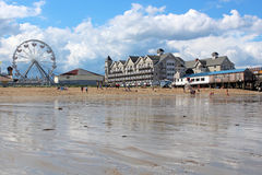 Old Orchard Beach, Maine Royalty Free Stock Images