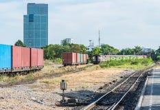 Old ordinary train. Stock Photography