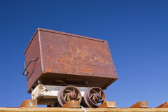 Old Ore Cart Stock Photos