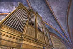 Old organ Stock Photo