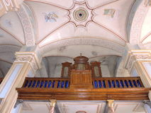 Old organ in Church, Lithuania Stock Photography
