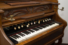 Old organ Royalty Free Stock Photo