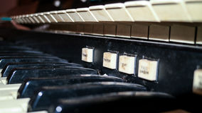 Old organ Royalty Free Stock Images
