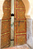 Old oriental door, Morocco Royalty Free Stock Photo