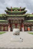 Old oriental palace royalty free stock photography