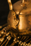 Old oriental teapot Stock Photography
