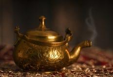 Old oriental teapot Royalty Free Stock Photo