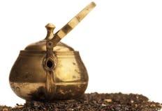 Old oriental teapot Stock Photos