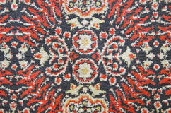 Old carpet fragment background Royalty Free Stock Photography