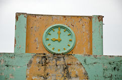 Old ornamental clock Royalty Free Stock Images