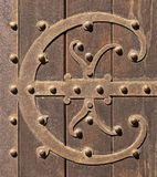 Old ornamental door Royalty Free Stock Photography