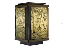 Old ornamental lamp Stock Image