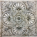 Old ornamental vintage tile stock photography