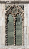 Old ornamental window Stock Photography