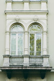 Old ornate balconies Royalty Free Stock Photos
