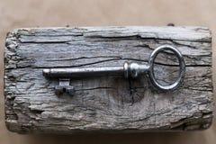 Old, ornate key Royalty Free Stock Photos