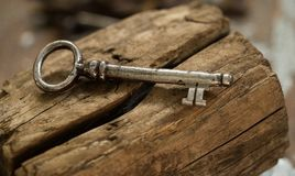 Old, ornate key royalty free stock photo