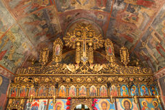 Old orthodox altar Royalty Free Stock Photos